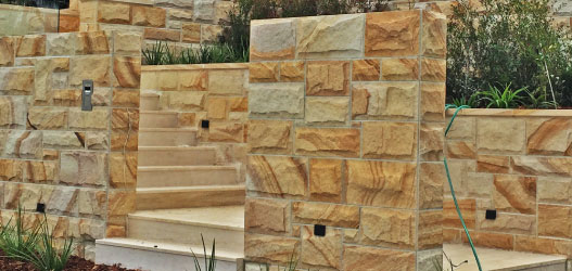 Dincel - Stone cladding finish